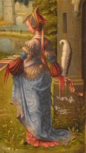 Trittico dell santa famiglia S. Barbara